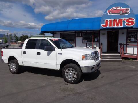 2008 Ford F-150 for sale at Jim's Cars by Priced-Rite Auto Sales in Missoula MT