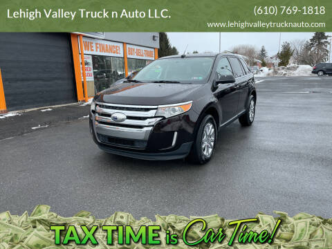 2013 Ford Edge for sale at Lehigh Valley Truck n Auto LLC. in Schnecksville PA