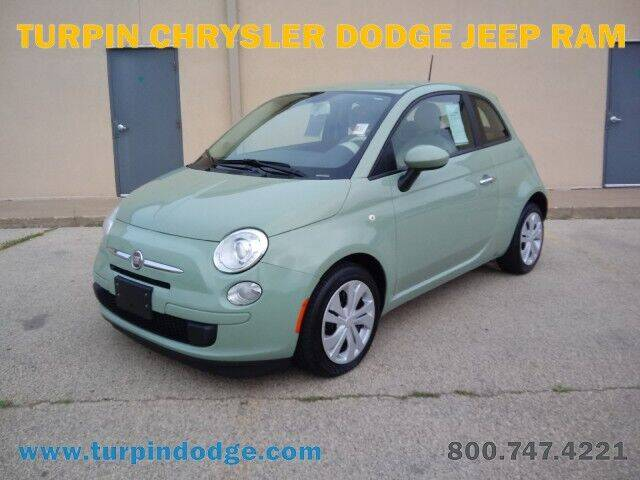 2013 FIAT 500 for sale at Turpin Dodge Chrysler Jeep Ram in Dubuque IA
