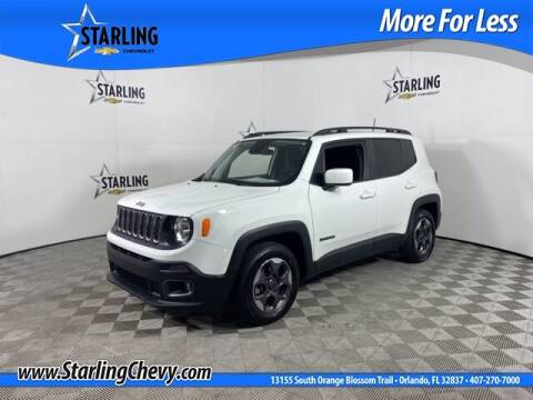 2018 Jeep Renegade for sale at Pedro @ Starling Chevrolet in Orlando FL