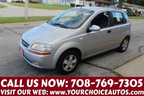2008 Chevrolet Aveo for sale at Your Choice Autos in Posen IL