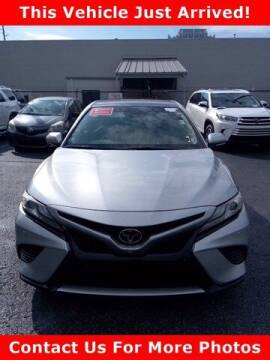 2018 Toyota Camry for sale at BEAMAN TOYOTA in Nashville TN