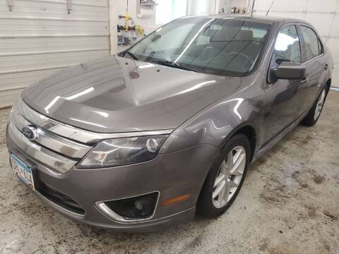 2012 Ford Fusion for sale at Jem Auto Sales in Anoka MN