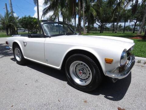 1973 Triumph TR6 for sale at Progressive Motors in Pompano Beach FL