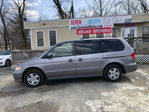 1999 Honda Odyssey for sale at Seven and Below Auto Sales, LLC in Rockville MD