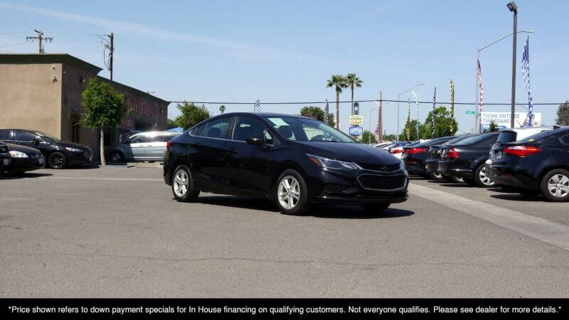 2016 Chevrolet Cruze for sale at Westland Auto Sales on 7th in Fresno CA