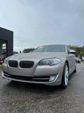 2012 BMW 5 Series for sale at Good Clean Cars in Melbourne FL