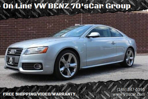2011 Audi A5 for sale at On Line VW BENZ 70'sCar Group in Warehouse CA