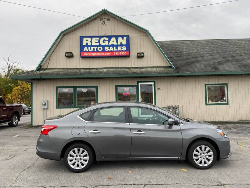 2018 Nissan Sentra for sale at Mark Regan Auto Sales in Oswego NY