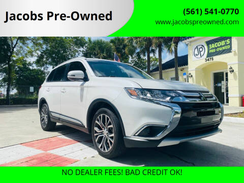 2017 Mitsubishi Outlander for sale at Jacobs Pre-Owned in Lake Worth FL