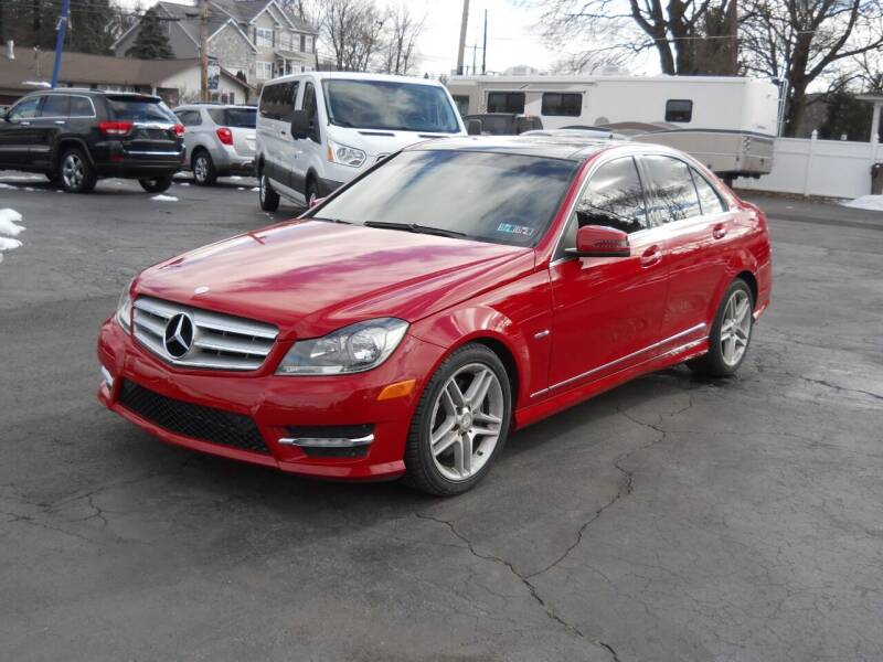 2012 Mercedes-Benz C-Class for sale at Petillo Motors in Old Forge PA