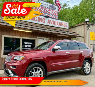 2015 Jeep Grand Cherokee for sale at Oscar's Truck Center, LLC in Houston TX