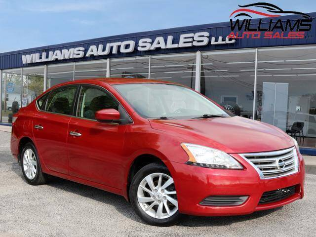 2013 Nissan Sentra for sale at Williams Auto Sales, LLC in Cookeville TN
