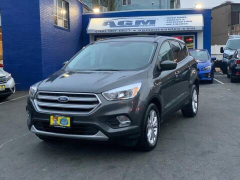 2017 Ford Escape for sale at AGM AUTO SALES in Malden MA