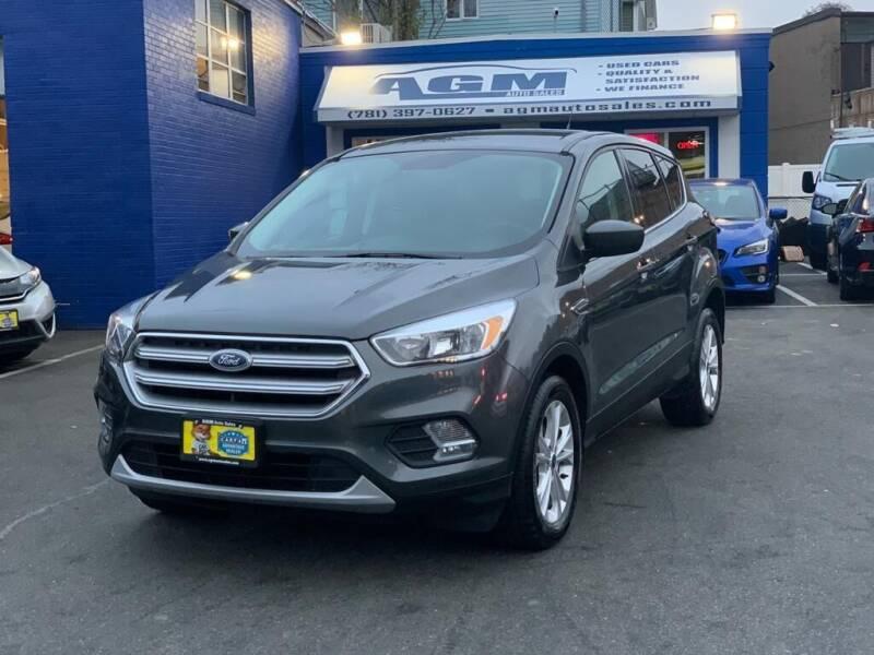2017 Ford Escape for sale at AGM AUTO SALES in Malden MA