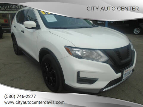 2017 Nissan Rogue for sale at City Auto Center in Davis CA