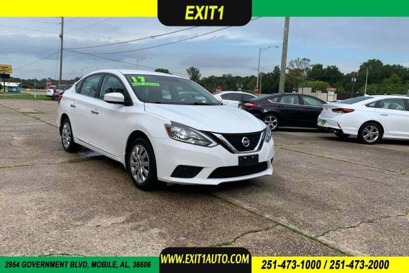 2017 Nissan Sentra for sale at Exit 1 Auto in Mobile AL