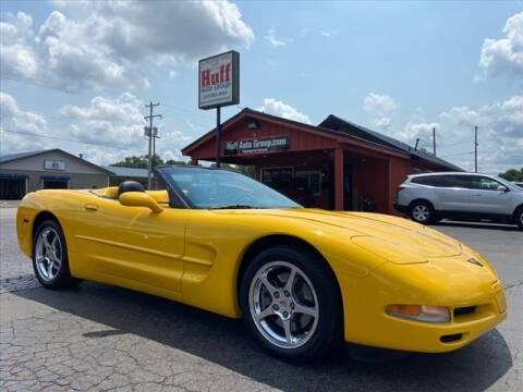 2002 Chevrolet Corvette for sale at HUFF AUTO GROUP in Jackson MI