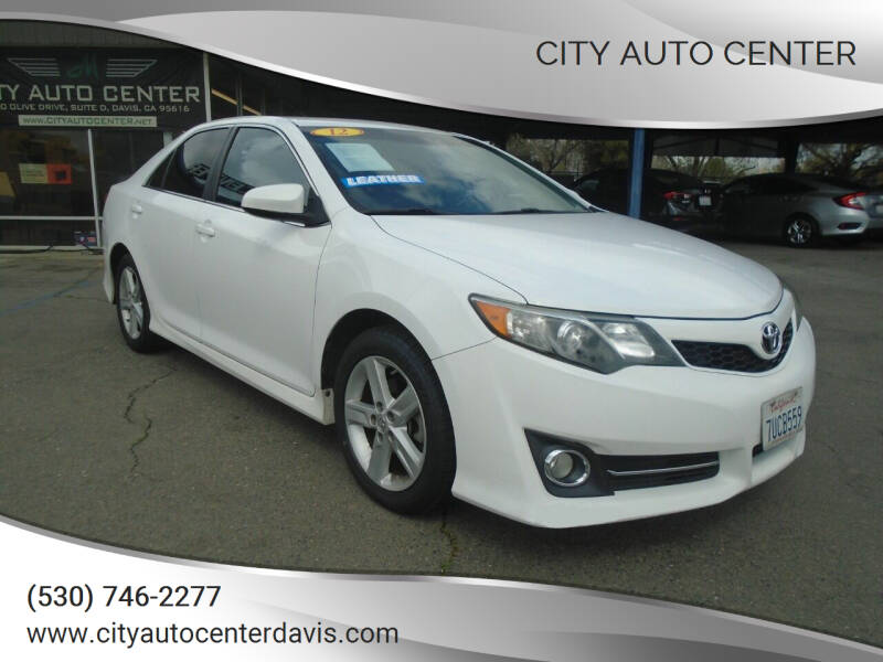 2012 Toyota Camry for sale at City Auto Center in Davis CA