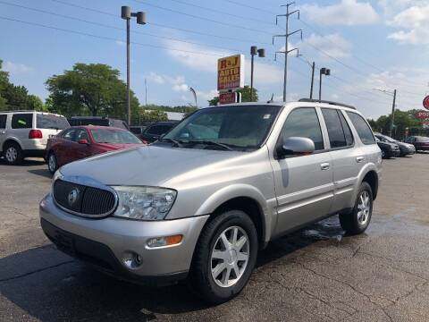 2004 Buick Rainier for sale at RJ AUTO SALES in Detroit MI