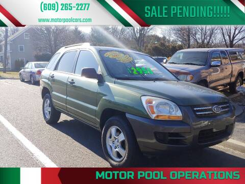 2007 Kia Sportage for sale at Motor Pool Operations in Hainesport NJ