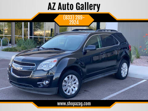 2011 Chevrolet Equinox for sale at AZ Auto Gallery in Mesa AZ