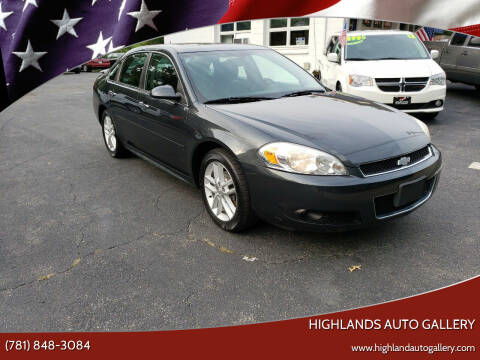 2014 Chevrolet Impala Limited for sale at Highlands Auto Gallery in Braintree MA