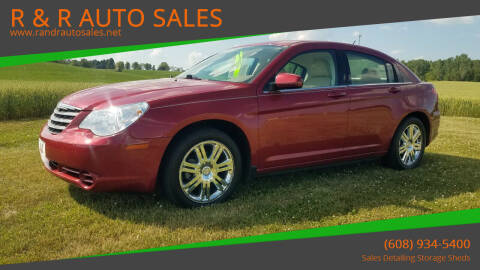2009 Chrysler Sebring for sale at R & R AUTO SALES in Juda WI