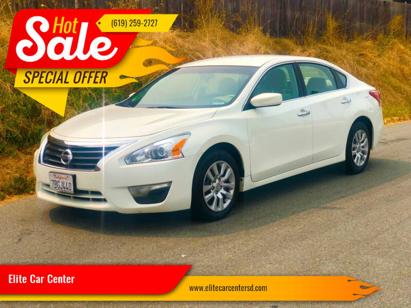 2013 Nissan Altima for sale at Elite Car Center in Spring Valley CA