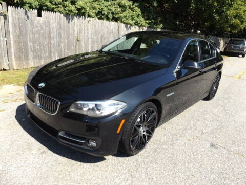 2015 BMW 5 Series for sale at Wayland Automotive in Wayland MA