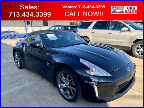 2017 Nissan 370Z for sale at HOUSTON CAR SALES INC in Houston TX