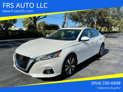 2020 Nissan Altima for sale at FRS AUTO LLC in West Palm Beach FL