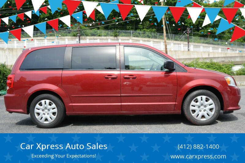 2014 Dodge Grand Caravan for sale at Car Xpress Auto Sales in Pittsburgh PA