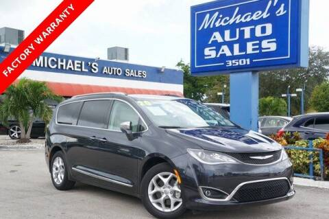 2020 Chrysler Pacifica for sale at Michael's Auto Sales Corp in Hollywood FL