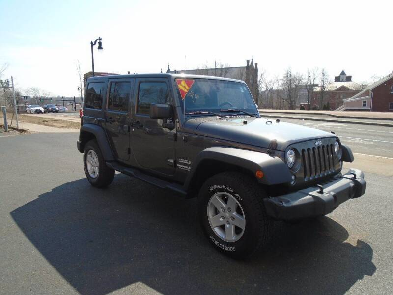 2017 Jeep Wrangler Unlimited for sale at Broadway Auto Services in New Britain CT