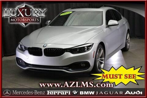 2018 BMW 4 Series for sale at Luxury Motorsports in Phoenix AZ