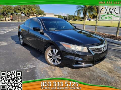 2012 Honda Accord for sale at Exxact Cars in Lakeland FL
