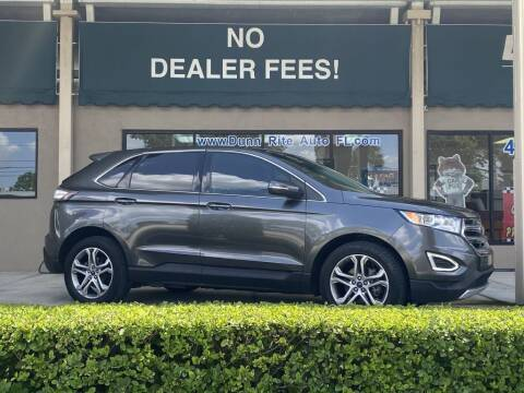 2016 Ford Edge for sale at Dunn-Rite Auto Group in Longwood FL