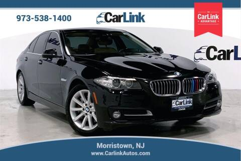 2015 BMW 5 Series for sale at CarLink in Morristown NJ