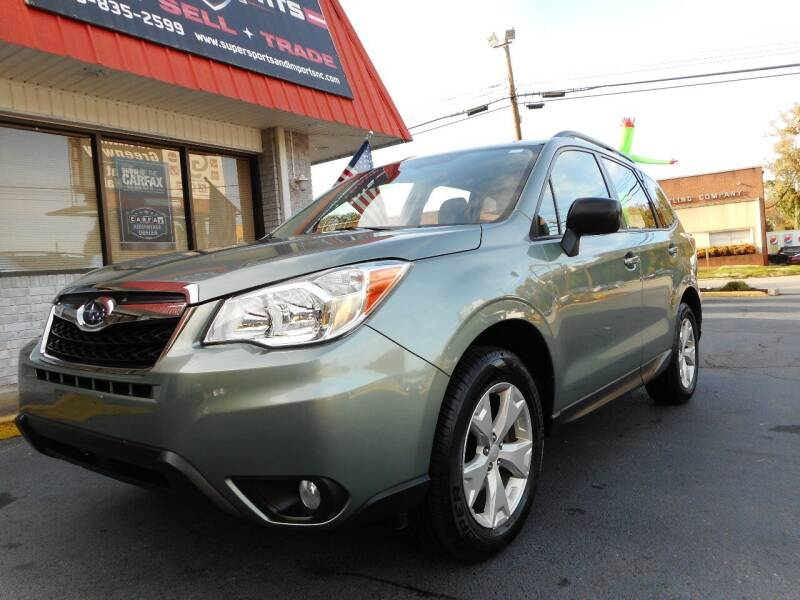 2016 Subaru Forester for sale at Super Sports & Imports in Jonesville NC