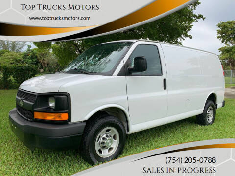 2016 Chevrolet Express Cargo for sale at Top Trucks Motors in Pompano Beach FL