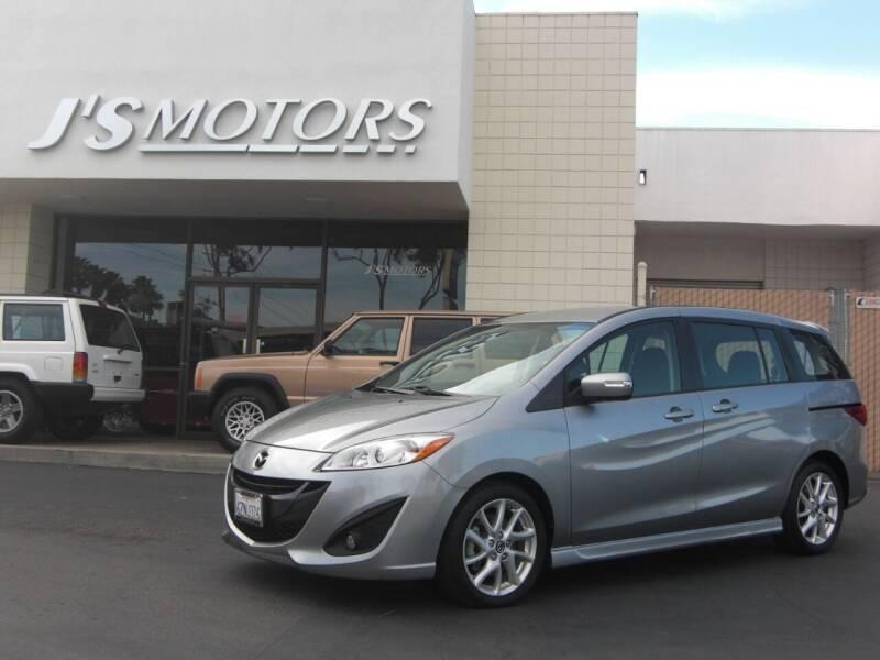 2013 Mazda MAZDA5 for sale at J'S MOTORS in San Diego CA