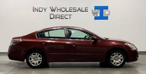 2012 Nissan Altima for sale at Indy Wholesale Direct in Carmel IN
