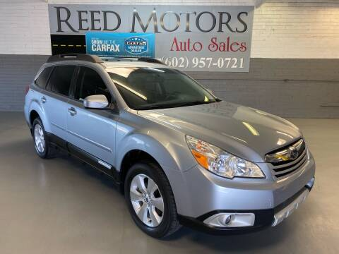 2012 Subaru Outback for sale at REED MOTORS LLC in Phoenix AZ