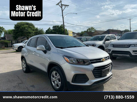 2018 Chevrolet Trax for sale at Shawn's Motor Credit in Houston TX