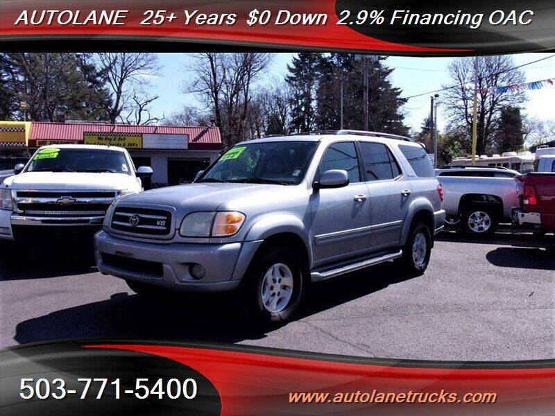 2002 Toyota Sequoia for sale at Auto Lane in Portland OR