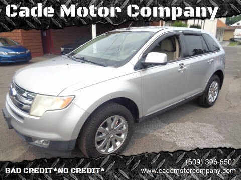 2010 Ford Edge for sale at Cade Motor Company in Lawrence Township NJ