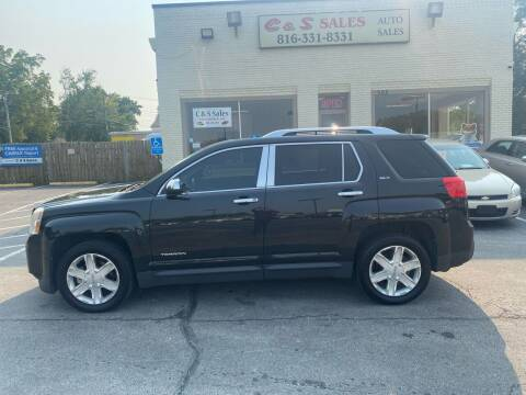 2011 GMC Terrain for sale at C & S SALES in Belton MO