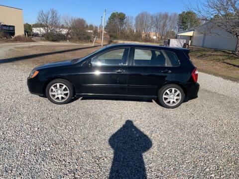 2006 Kia Spectra for sale at MEEK MOTORS in North Chesterfield VA