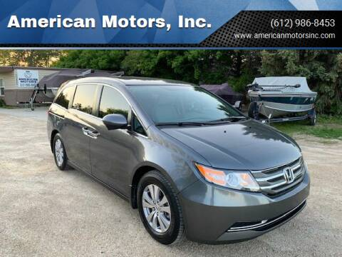 2016 Honda Odyssey for sale at American Motors, Inc. in Farmington MN